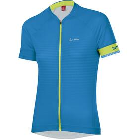 Löffler hotBOND Full-Zip Bike Jersey Women, blauw